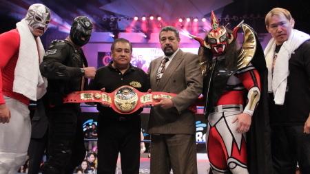CMLLウニベルサル王座決定戦