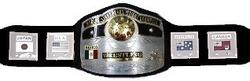 旧NWA世界ライトヘビー級チャンピオンベルト