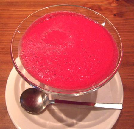 2赤いスープ