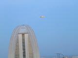 インターコンチネンタルホテルと飛行船