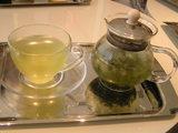 ミッドタウンのカフェで頂いた水出し茶