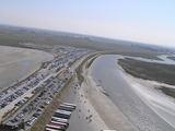 駐車場と対岸