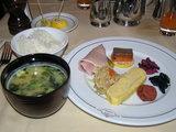 今日の朝食は和食で!