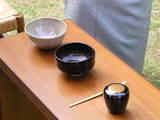 大仏次郎愛用の黒楽の茶碗