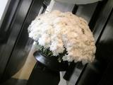 アマンサラ、ダイニングお花