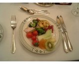 ビュッフェの前菜