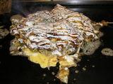 豚、山芋、ねぎの豚平焼き