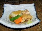海老芋と鶏