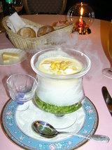 フレッシュハニーバンダムの冷たいスープ