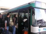 ロワシーバスでオペラ座界隈まで