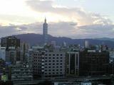 お部屋からの景色、台北101