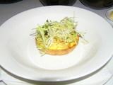 ホームフード・前菜、蟹とトマトのタルト