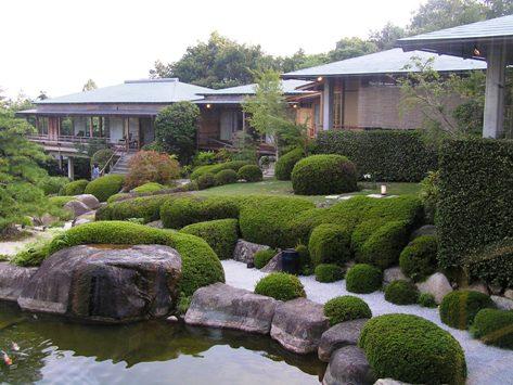 広島宮浜温泉、庭園の宿 石亭
