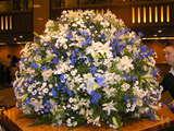 帝国ホテル、ロビーのお花
