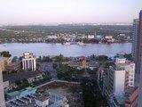 お部屋からの眺め サイゴン川