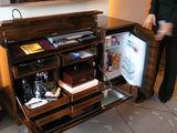 テレビの下の収納ボックス