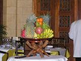 店内に飾ってある果物