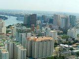 サイゴントレードセンターからの眺め