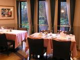 洋館のレストラン 室内