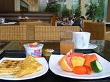 きれいな私の朝食