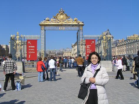 ベルサイユ宮殿入り口