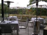 ガーデンレストラン、テラス席