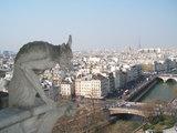 パリの街を見下ろすシメール