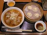 叉焼麺セット 1313円