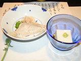 なまり節、ゴマ豆腐