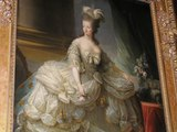 王妃の居室に飾ってある肖像画