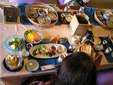 朝食、 洋食と 和食