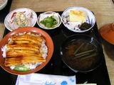 穴子丼セット 1260円