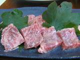オイル焼きの 京都牛