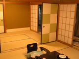 客室露天風呂付きのお部屋