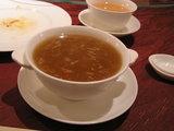ふかひれと蟹のスープ