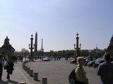 エッフェル塔とコンコルド広場