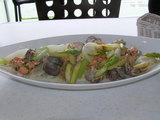太刀魚の炒め物