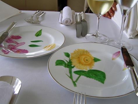 モナリザ、きれいなお皿