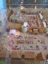 砂漠のレストラン「バブアルシャム」の模型