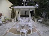 二階のお庭
