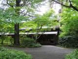 緑の中にある亀の井別荘