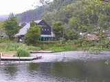 金燐湖にあるシャガール美術館