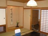 和室、右側にベッドルーム