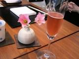 ピンクのシェンパンで…