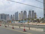 工事中の街