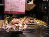 オペラ座界隈の散策、牡蠣やさん