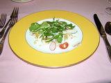 オマール海老とホタテのサラダ