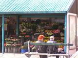 マドレーヌ付近のお花屋さん