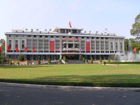 統一会堂(南ベトナム時代の大統領官邸)