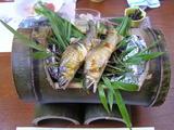 別注 鮎の 笹焼き 2匹 3150円